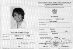 dyplom licencjat